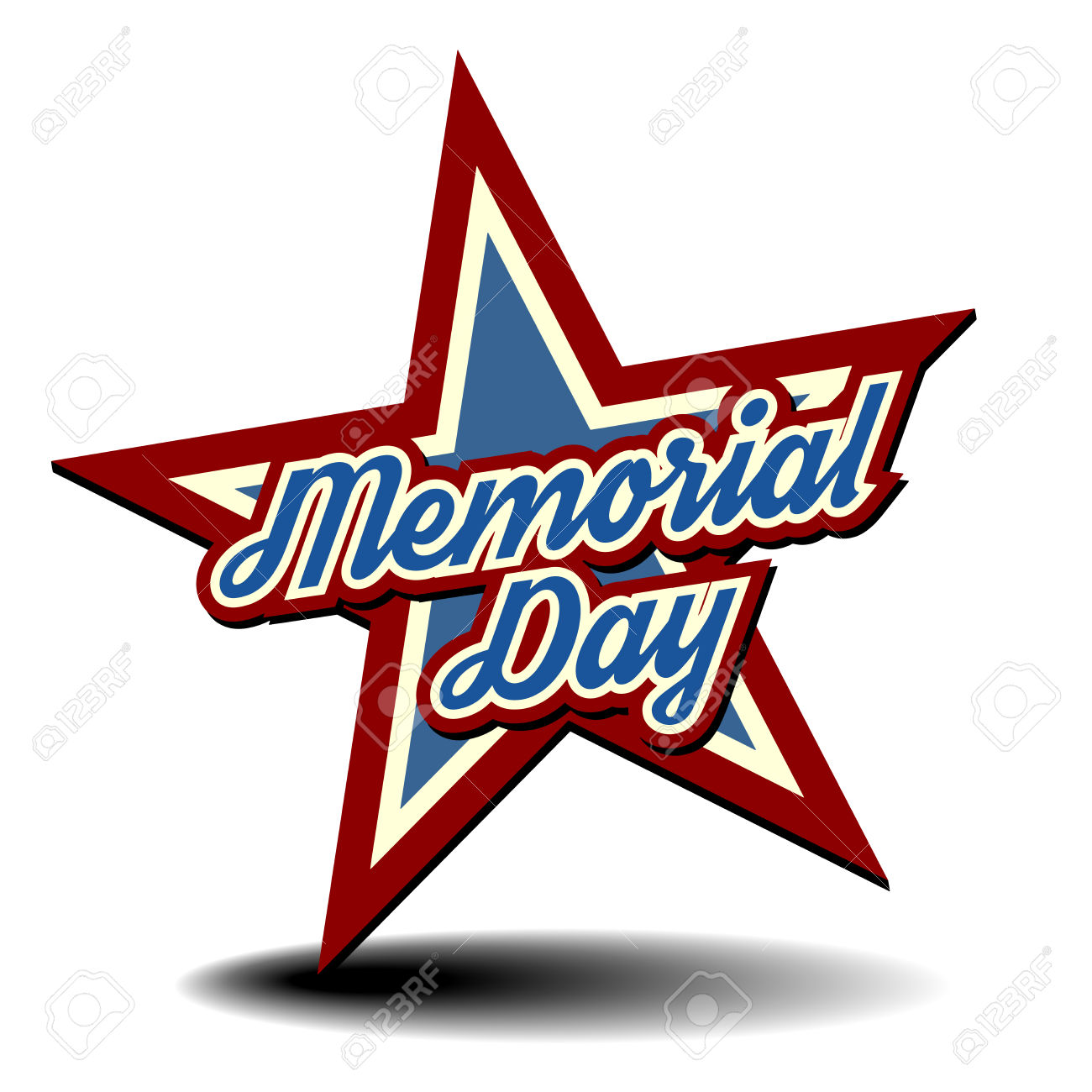 1300x1300 Stars Clipart Memorial Day Free Collection Download And Share