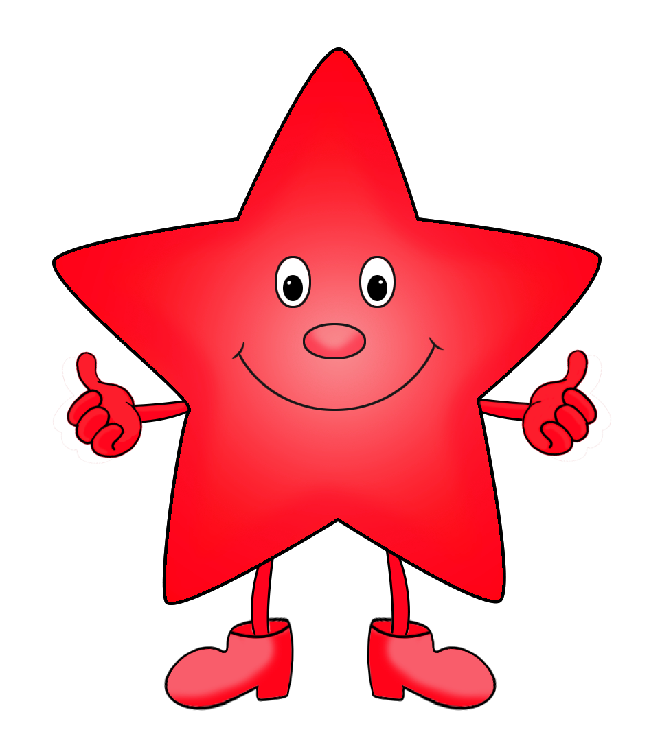 945x1067 Wondrous Inspration Red Star Clip Art Clipart Green Cartoon Images