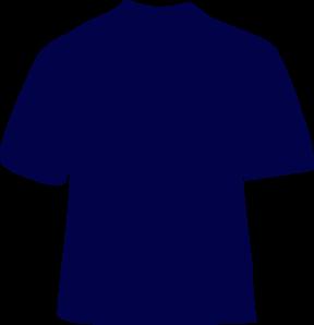 288x298 Navy Blue T Shirt Png, Svg Clip Art For Web