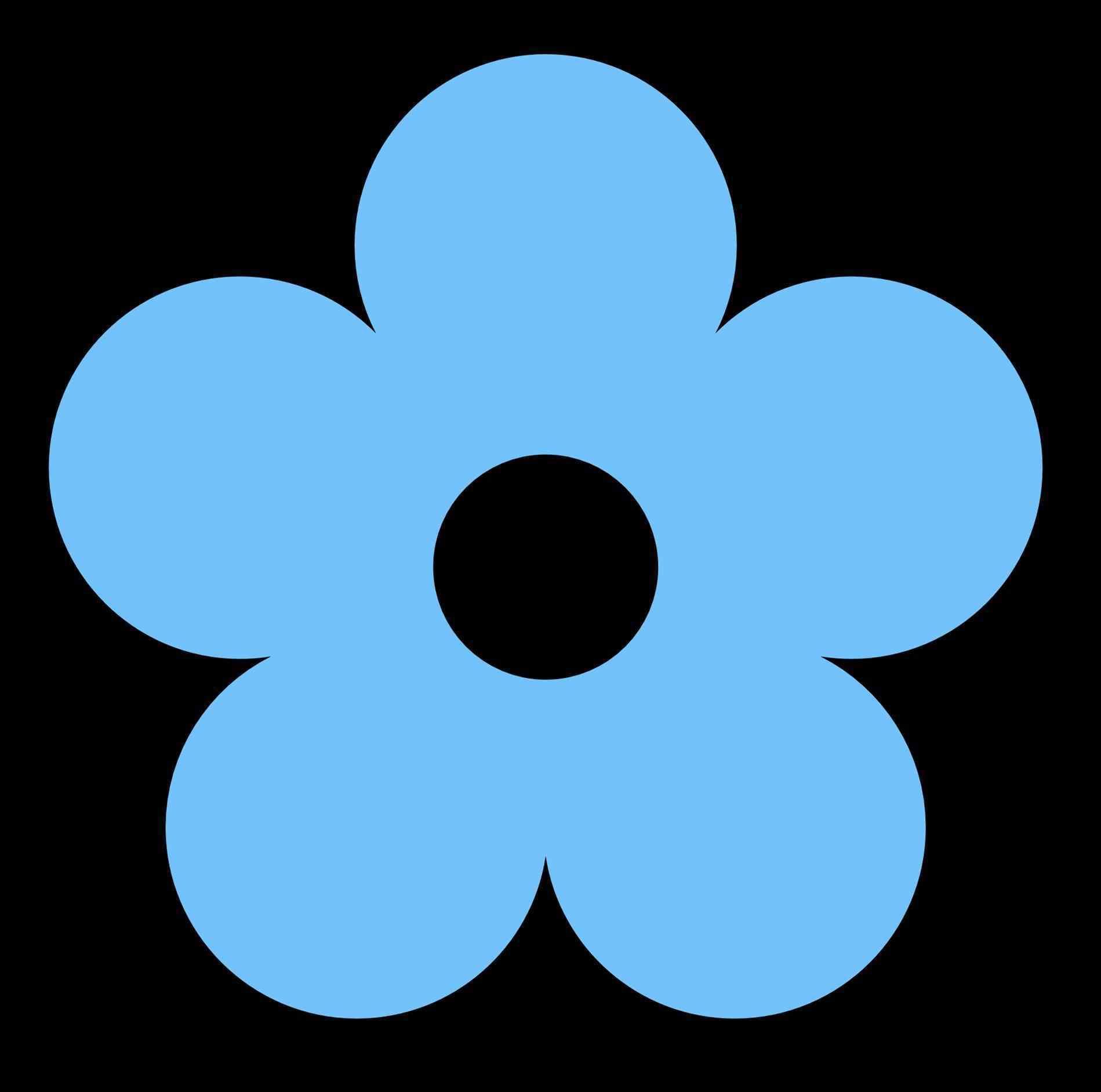 1899x1883 Navy Flower Clip Art Library Free Download On Flower Dark Blue