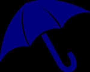 300x240 Navy Umbrella Clipart Clip Art