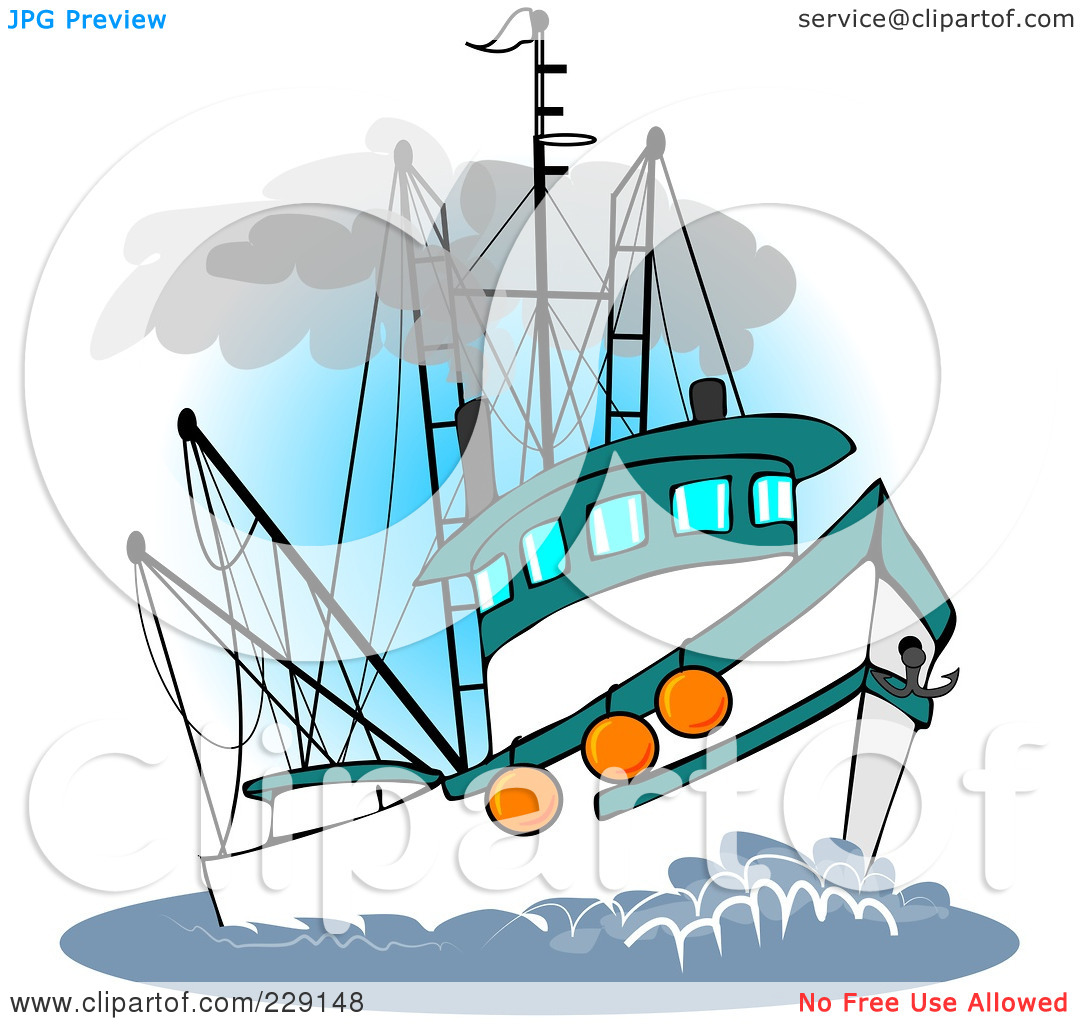 1080x1024 Fishing Boat Clipart Fishing Trawler