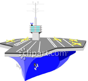 350x324 Flat Deck Aircraft Carrier