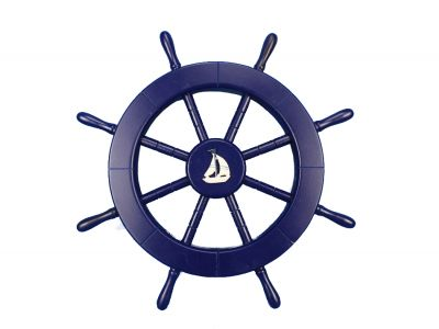 400x300 Navy Captains Wheel Clipart