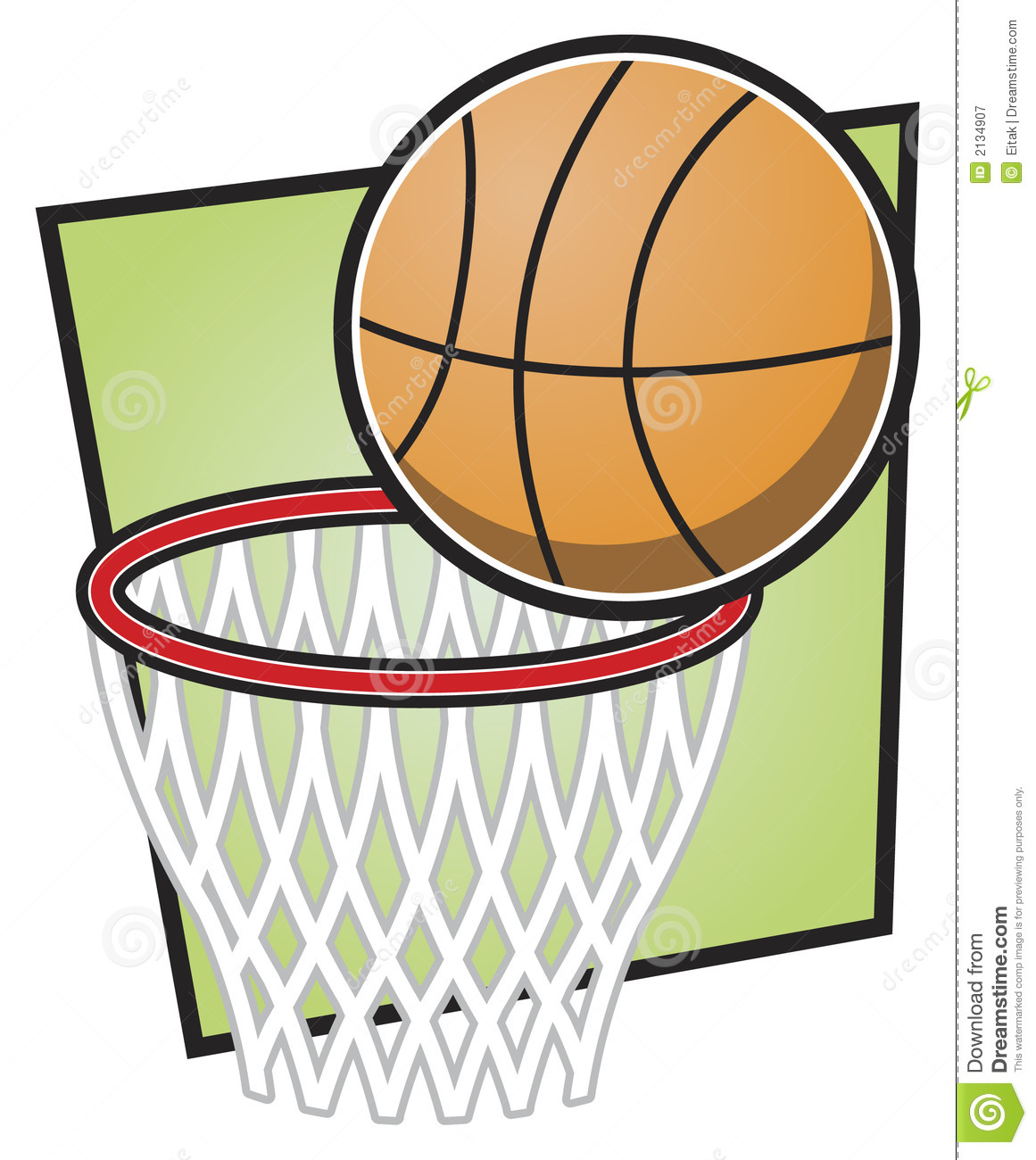 Nba Basketball Clipart