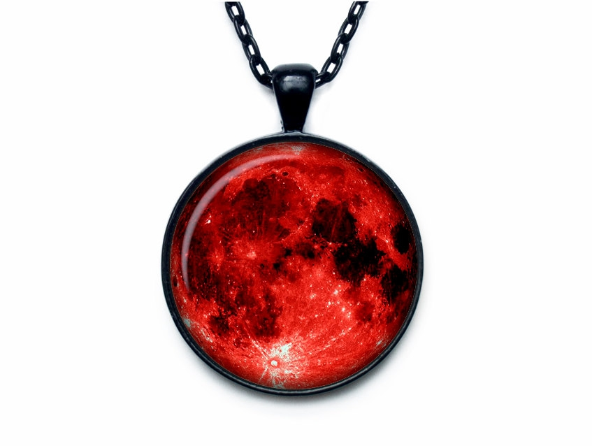 847x638 Clip Art Blood Moon Pendant Moon Necklace Moon Jewelry Full Moon
