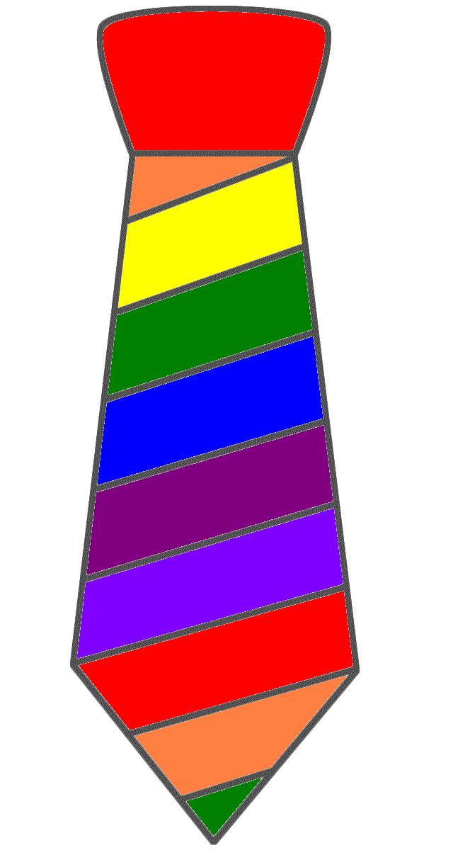 640x1200 Crazy Tie Day Clip Art Free Image