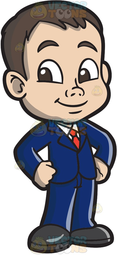 471x1024 A Boy In Suit And Tie Cartoon Clipart Vector Toons