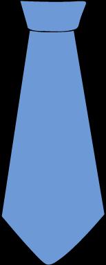 154x386 Blue Tie Clip Art Clipart Panda