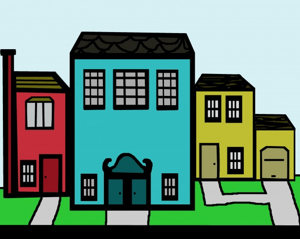 615x491 Clip Art Neighborhood Clipart Panda