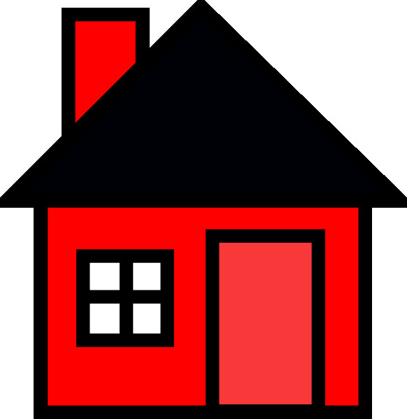 582x599 House Line Art Clipart Houses Clip Art Set Houses Clipart Cute