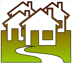 299x264 Neighborhood Cutout Clip Art