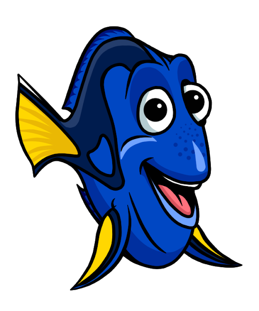 533x640 Finding Dory Clipart