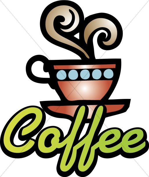 514x612 Neon Coffee Sign Clipart Refreshments Word Art