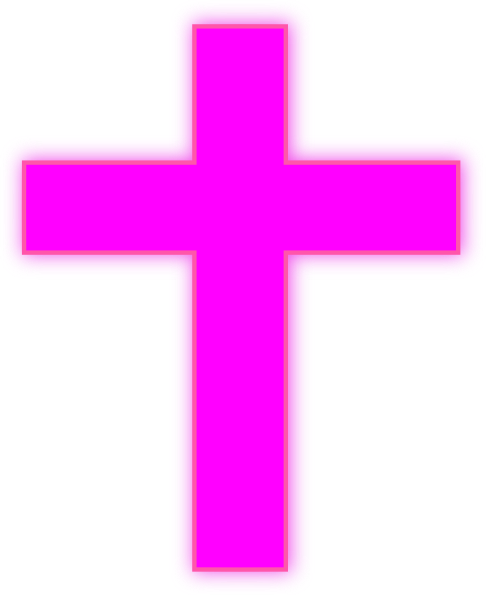 486x595 Neon Cross Cliparts Free Download Clip Art Free Clip Art
