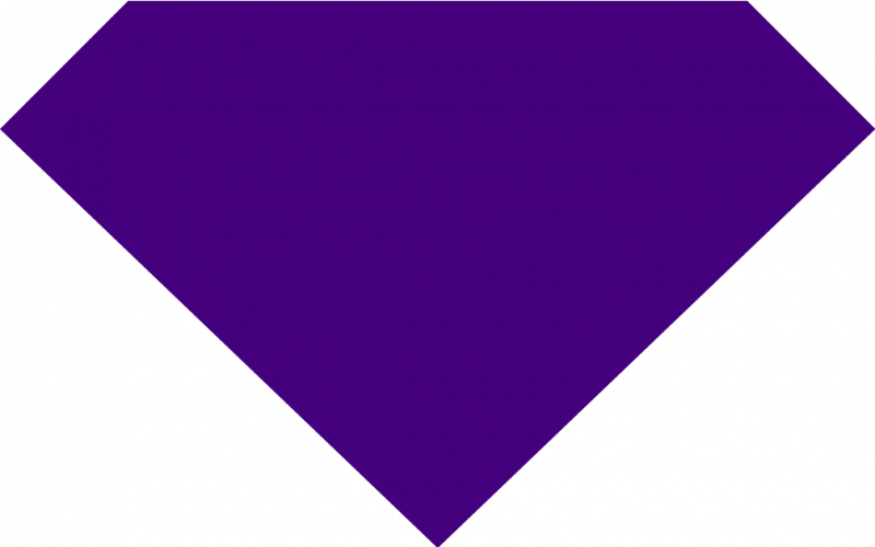 800x500 Neon Clipart Purple Diamond