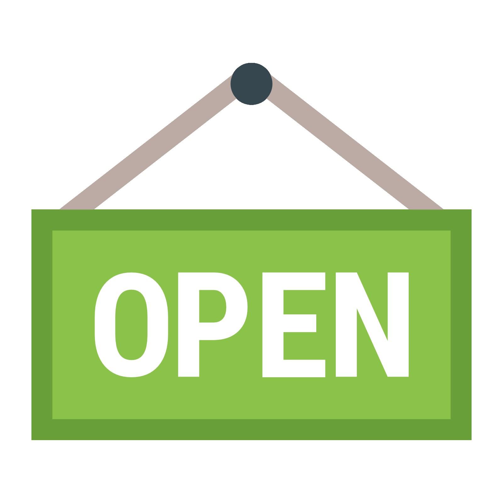 1600x1600 Open Sign Clipart Neon Clip Art Net Fair