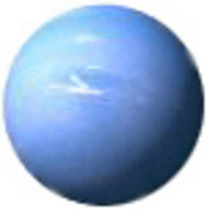 296x300 Free Clipart Picture Of The Planet Neptune