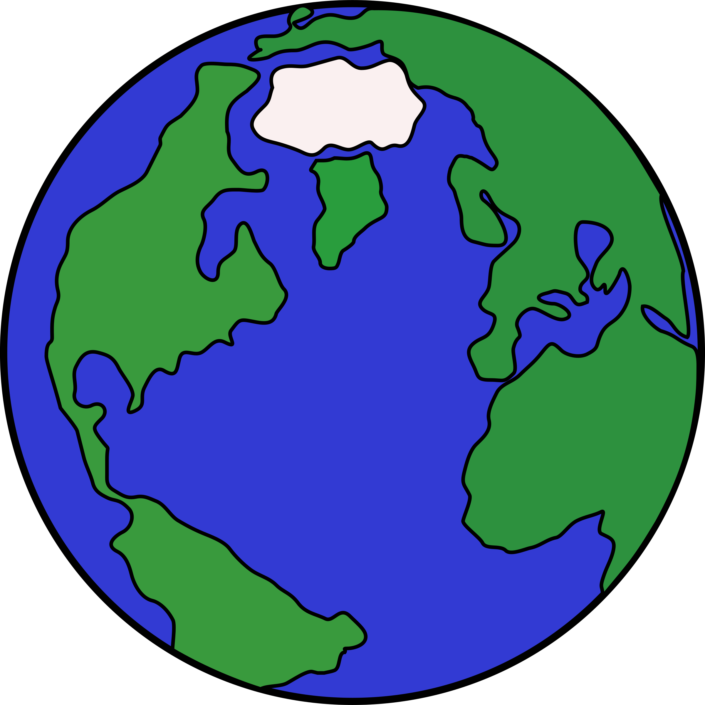 2400x2400 Planet Clip Art Hostted 2