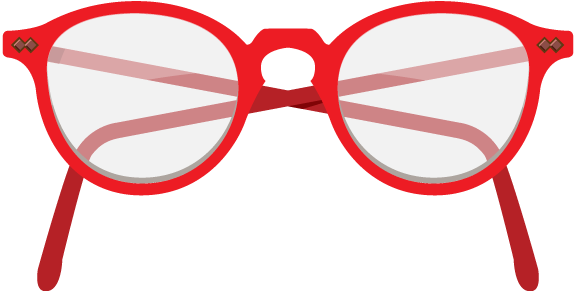 576x296 Red Nerd Glasses Clipart Clip Art Library