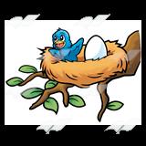 160x160 Baby Birds In Nest Clipart