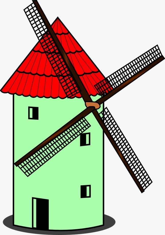 650x923 Dutch Windmill, Netherlands, Windmill, Decoration Png Image