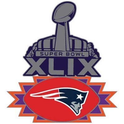 400x400 New England Patriots 2015 Super Bowl Xlix Pin