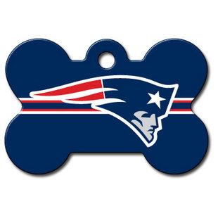 310x310 New England Patriots Nfl Pet Id Tag