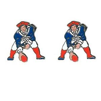338x338 Patriots Throwback Earrings