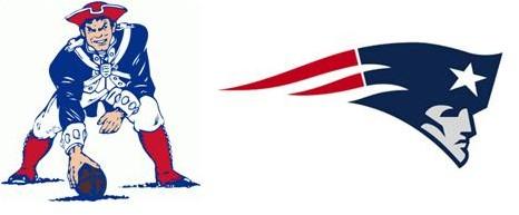 466x193 New England Patriots Logo Design Amp The Bottom Line