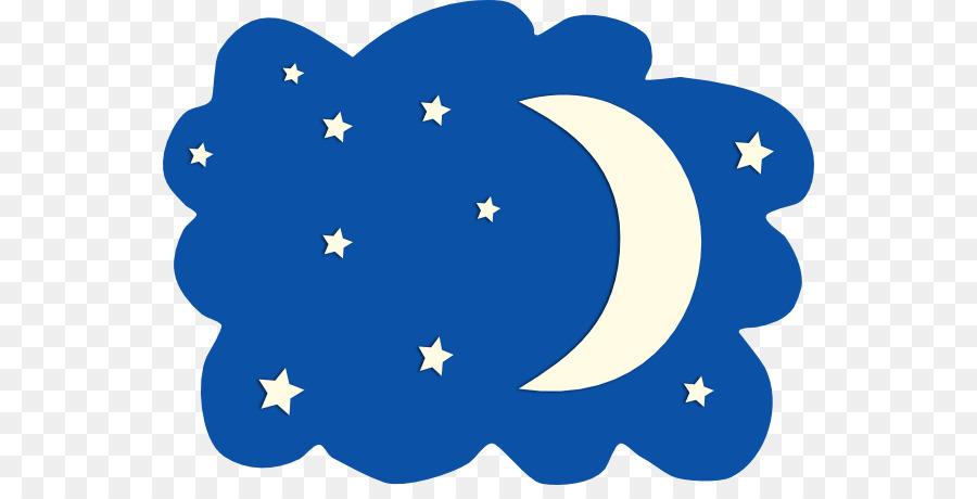 900x460 Moon Night Sky Star Clip Art