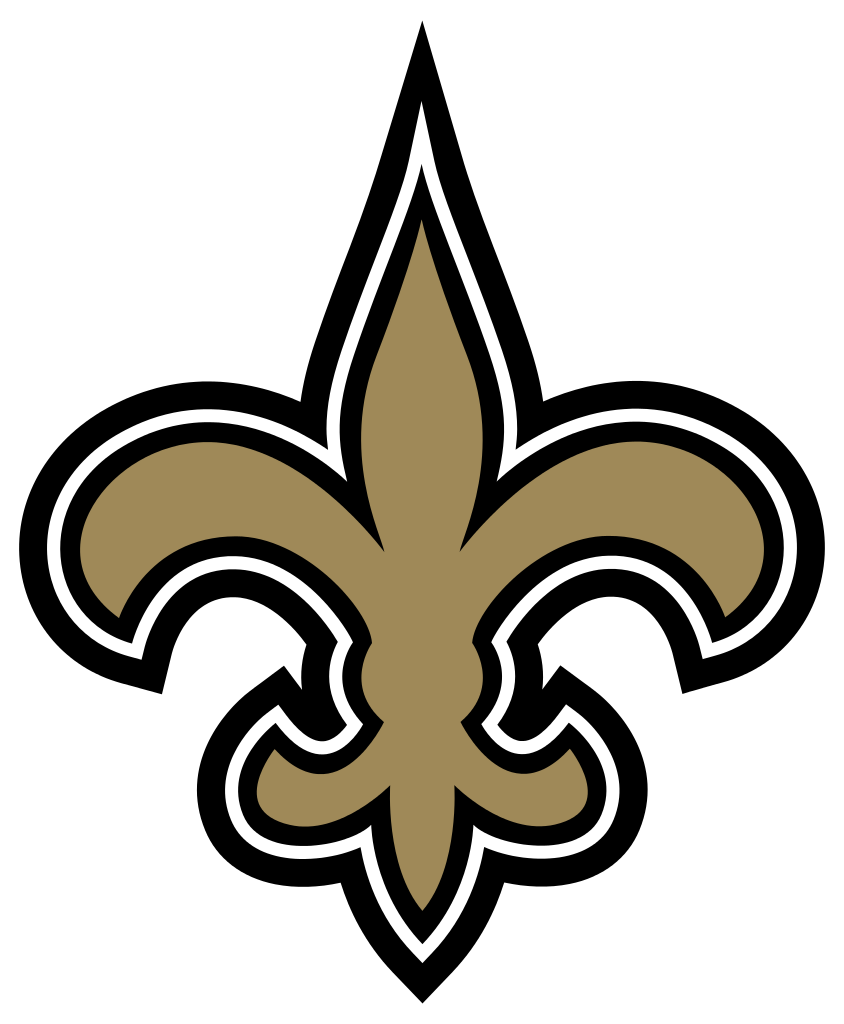 844x1024 New Orleans Saints Symbols Free Clip Art
