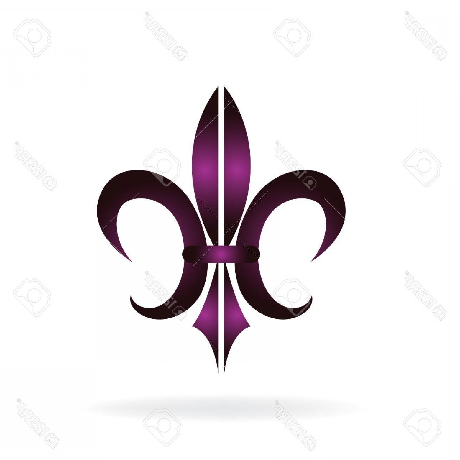 1560x1560 Photostock Vector Fleur De Lis New Orleans Symbol Flower Logo Icon