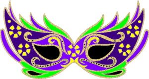 300x159 Purple Masquerade Mask