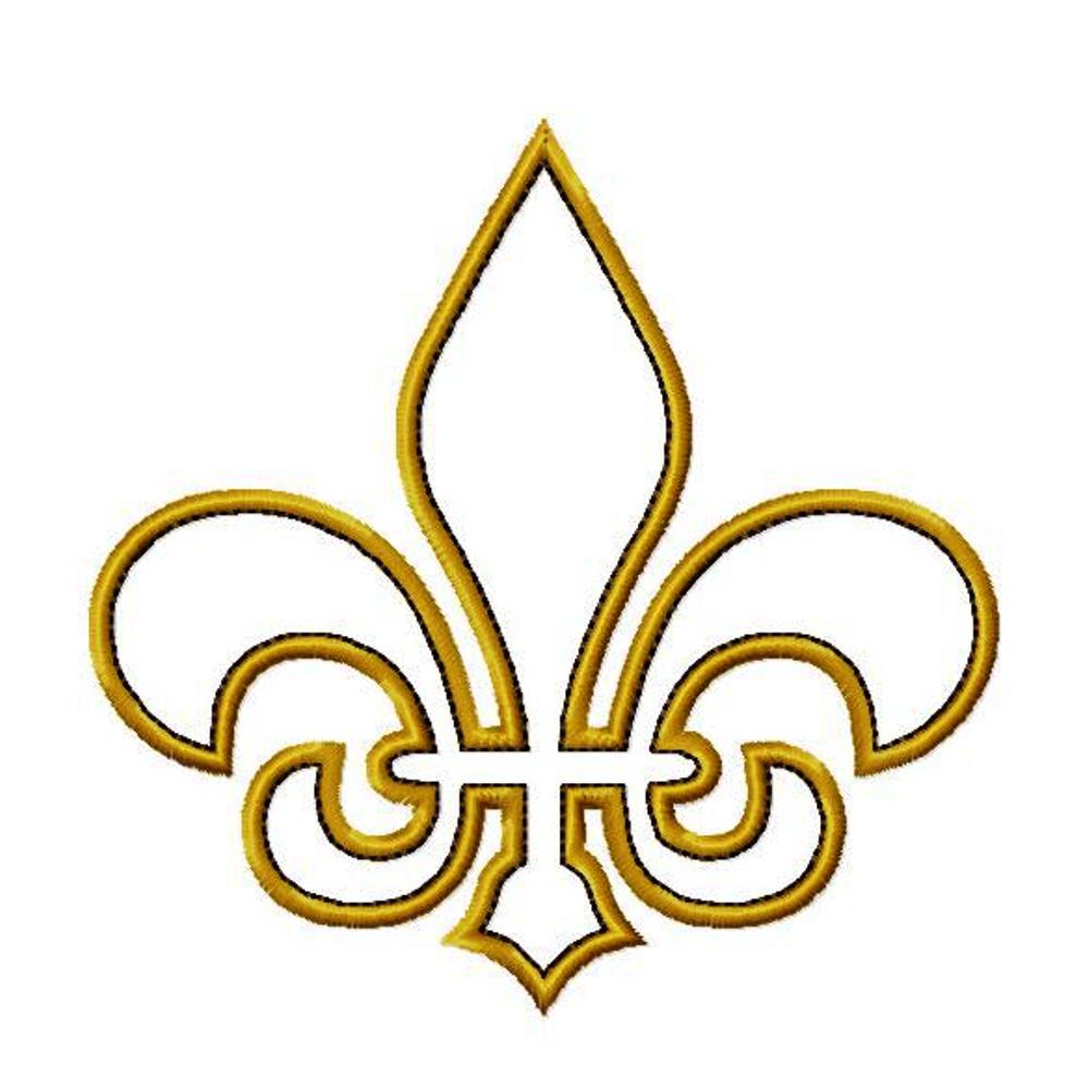 1000x1000 Clip Art New Orleans Saints Clip Art