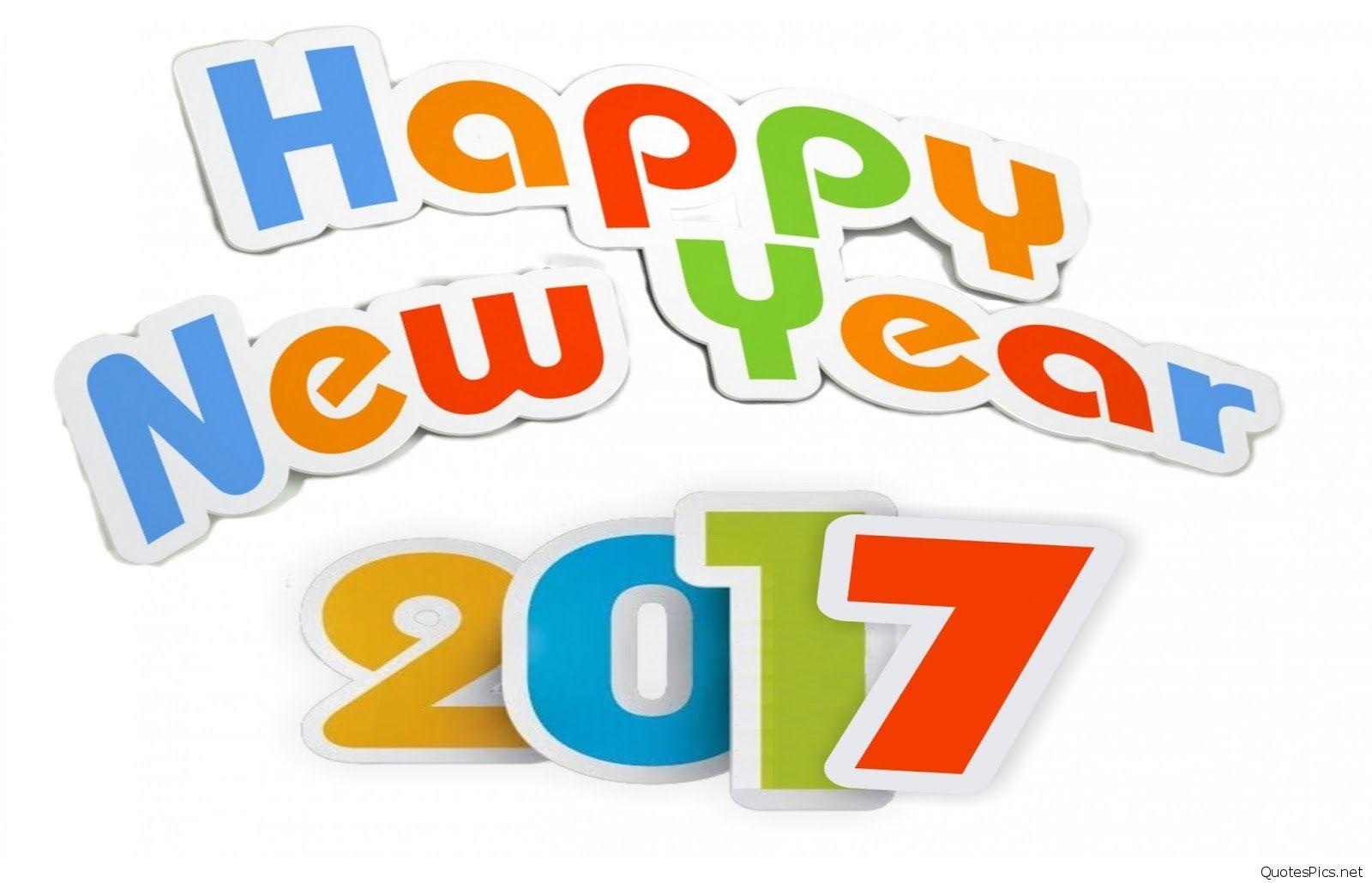 1600x1030 Happy New Year Clip Art Cartoon, Sayings 2017