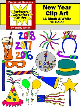 263x350 News Year Clipart, Celebration Theme By Promoting Success Tpt