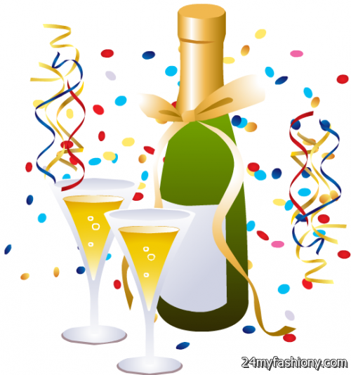 500x534 Appealing New Years Eve Clipart Animated