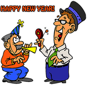 296x291 Free New Year Clipart