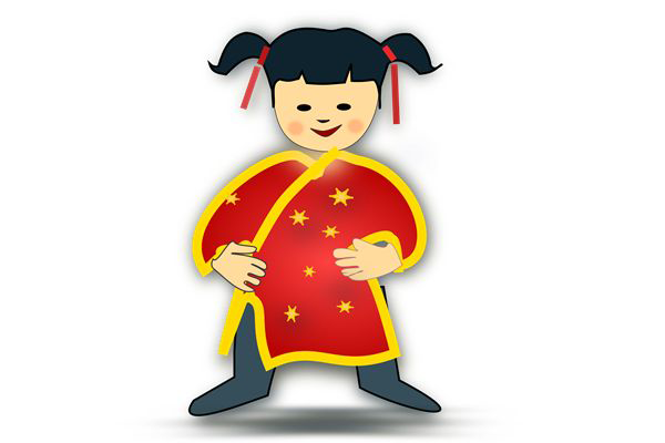 600x400 Kids Chinese New Year Clipart