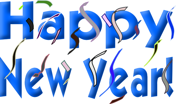 600x357 2017 New Year Clip Art Happy Holidays!