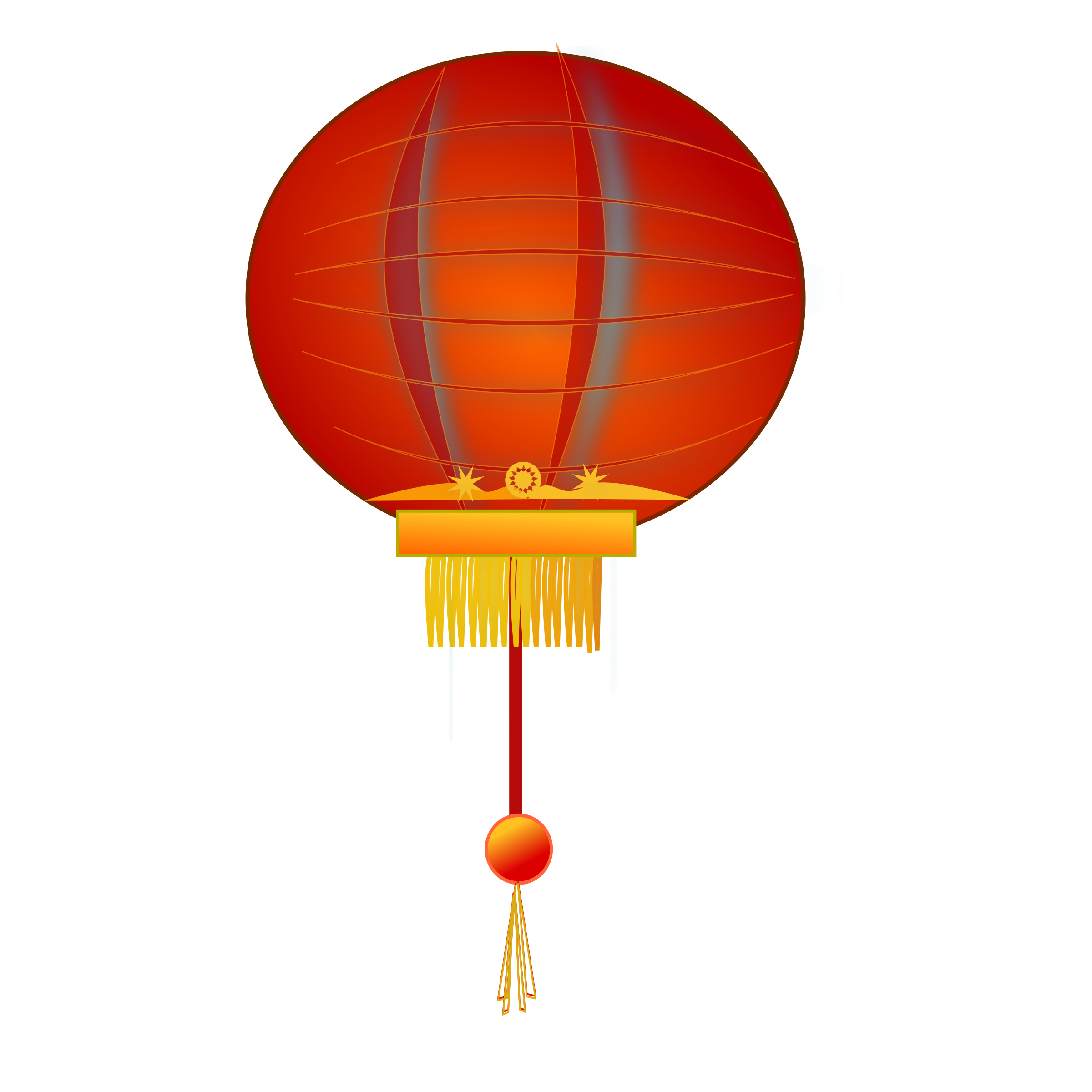 2400x2400 Chinese New Year Lantern Clip Art Clipart