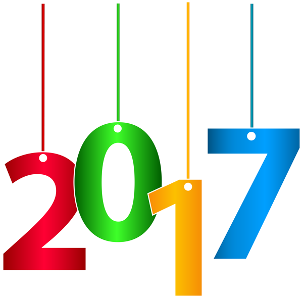 New Years 2017 Clipart