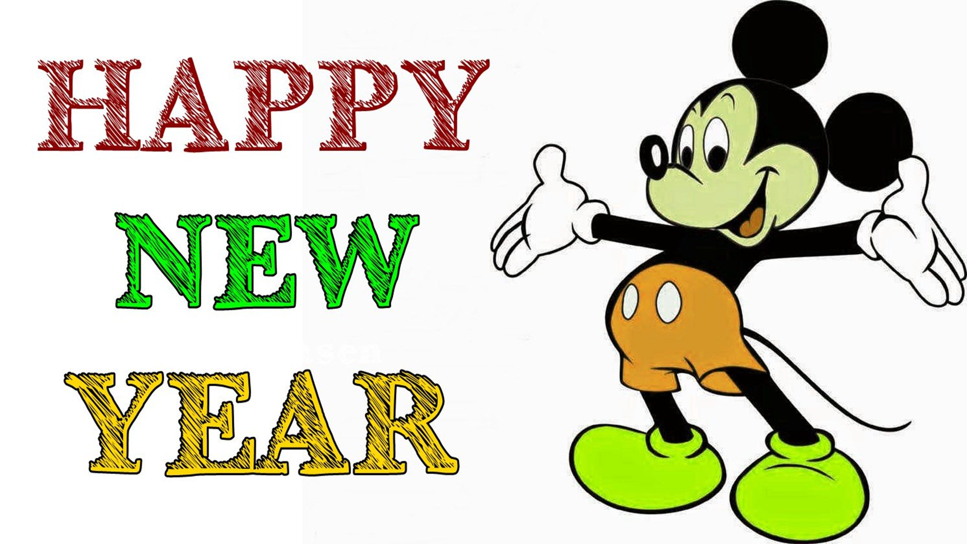 1920x1080 Happy New Year Clip Art Image Free Download Con Happy New Year Png