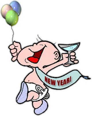320x406 Pretty New Years Clipart New