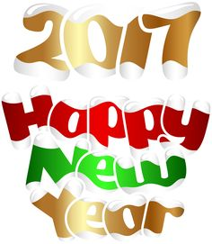 236x271 Cool Gold 2017 Transparent Png Clip Art Image Happy New Year