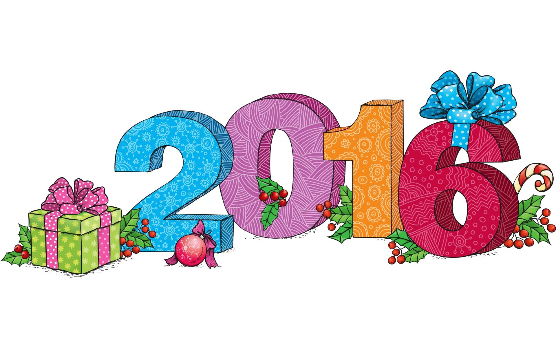 1920x1200 New Year Clipart 2016