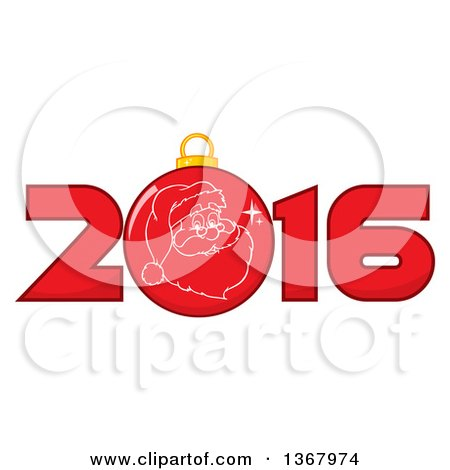 450x470 Royalty Free (Rf) Clipart Illustration Of A Happy New Year