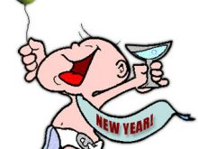220x165 Free Animated New Years Clip Art Clipart