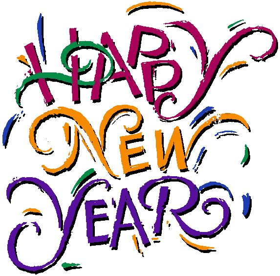 573x564 Happy New Year Clipart New Year